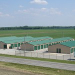 Over 3 and half acres of fenced and gated secured storage